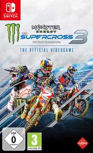 Monster Energy Supercross: The Official Videogame 3 (Switch) für 34,99€ (Amazon & Saturn & Media Markt eBay)