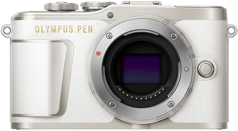 Olympus PEN E-PL9 Gehäuse Systemkamera - weiß (Amazon)