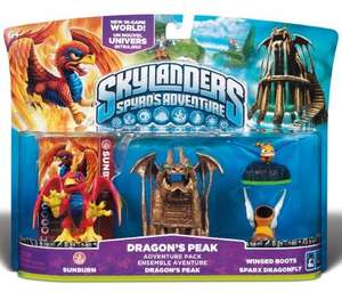 Skylanders Dragons Peak Adventure Pack @MyToys für 19,99€ + Versand