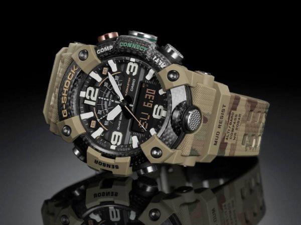 G-Shock Limited Edition British Army horloge GG-B100BA-1AER