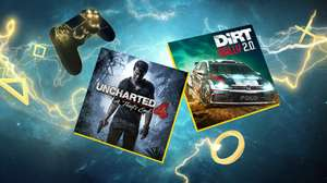 Playstation Plus April: Dirt Rally 2.0 & Uncharted™4: A Thief's End