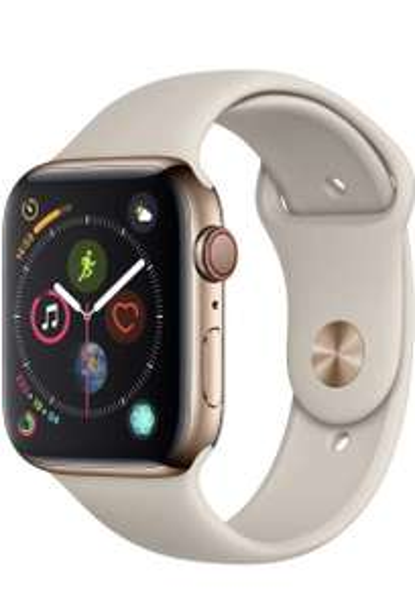 Apple Watch 4, 44mm, Gold, Edelstahl