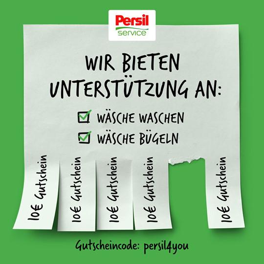 Reinigung: Persil Service Online-Wäscheservice
