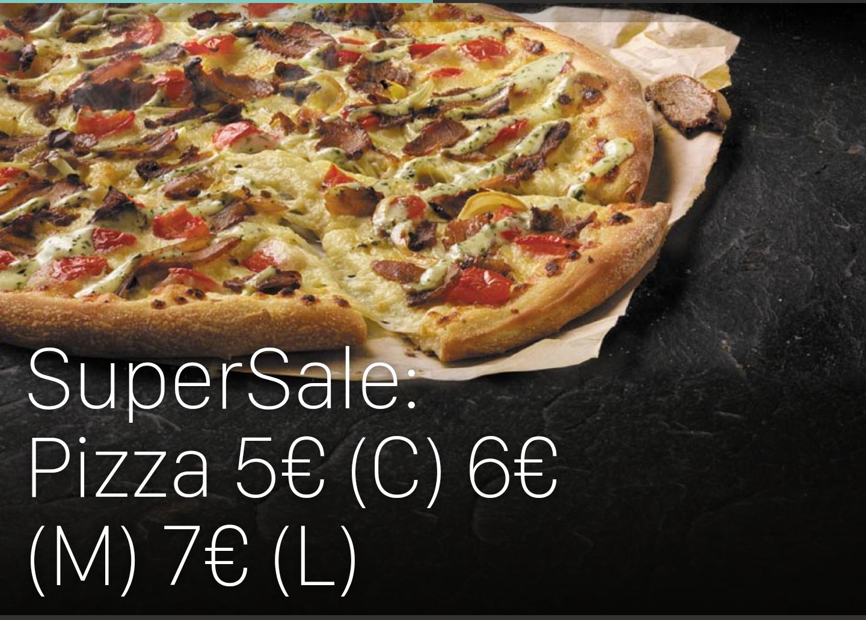 [ggf. lokal] Domino's Pizza - Super Sale - Classic 5€, Medium 6€, Large 7€ (Kontaktloser Lieferservice) [Düsseldorf, Krefeld, Moers]