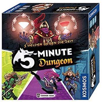 Kosmos 692889 - 5-Minute Dungeon - Wahre Helden gegen die Zeit. Temporeiches Gesellschaftsspiel für 9,99€ (Amazon Prime)