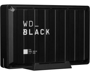 WDBlack D10 Game Drive Externe Festplatte 8 TB, 3,5 Zoll, Gaming-Festplatte, 7200 U/m Schwarz/Weiß [Mediamarkt]