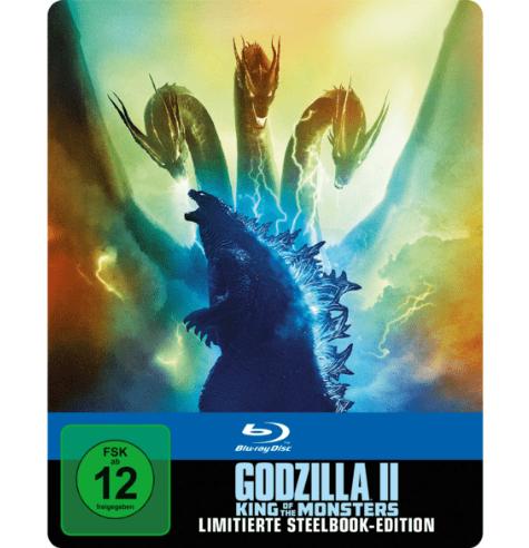 Godzilla II: King Of The Monsters Steelbook (Blu-ray) für 15,99€ inkl. Versand (Media Markt)