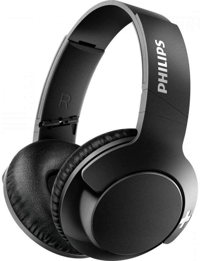 Philips SHB3175BK BASS+ Over-Ear Bluetooth-Kopfhörer (13h Akku, Headset-Funktion) schwarz
