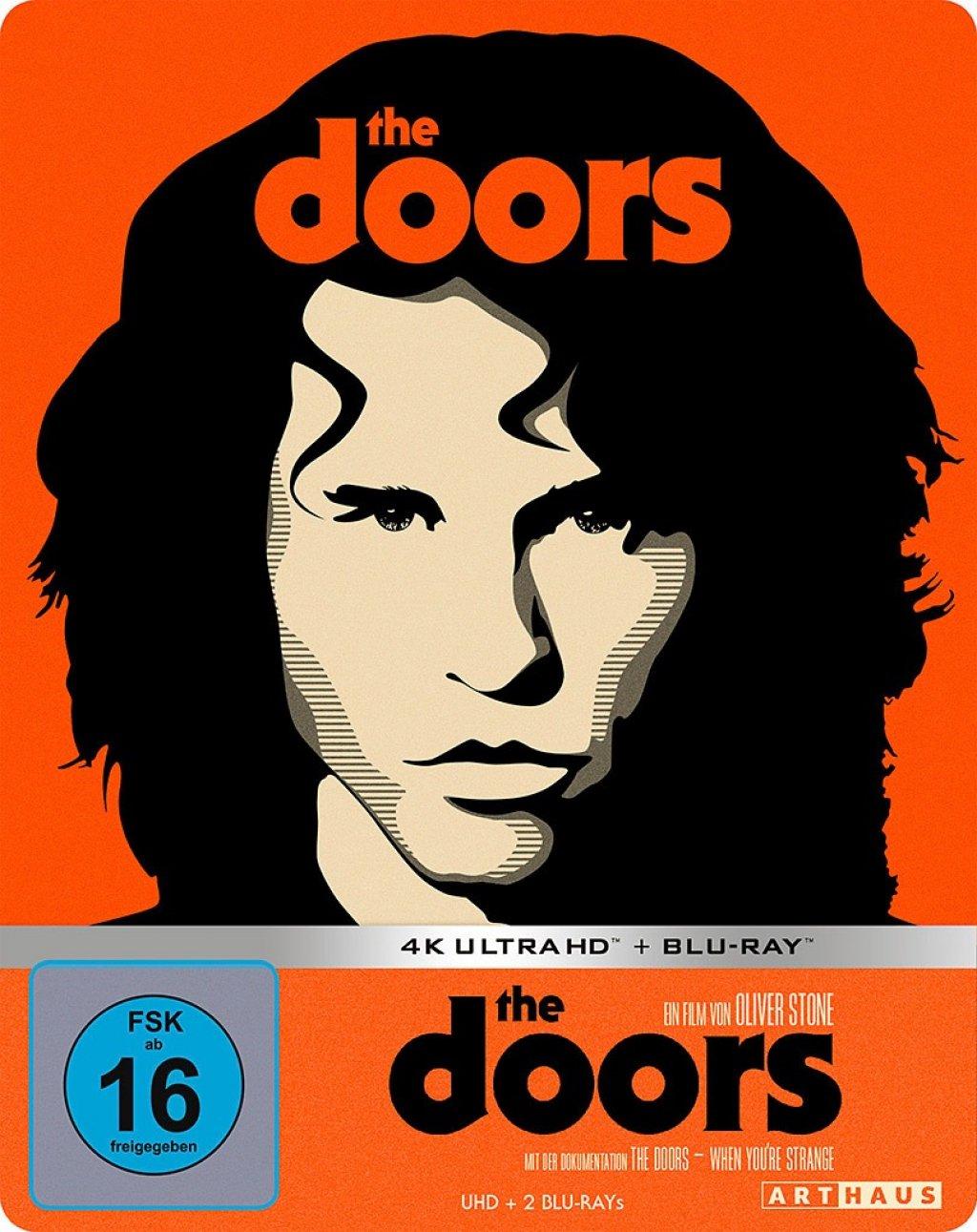 The Doors 4K Limited Steelbook Edition (4K UHD + Blu-ray) für 19,99€ versandkostenfrei (Media Markt)