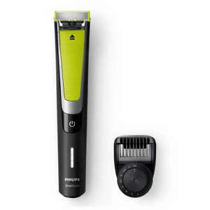 Philips OneBlade Pro QP6505/20 Rasierer Trimmer Akkubetrieb schwarz/grün