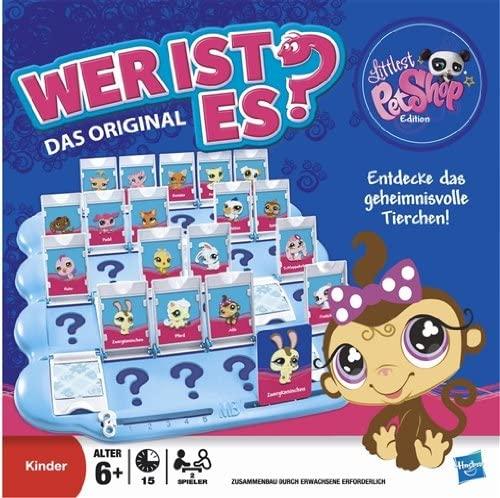 Kinderspiel Familienspiel Wer ist es? Littlest Pet Shop Edition von Hasbro