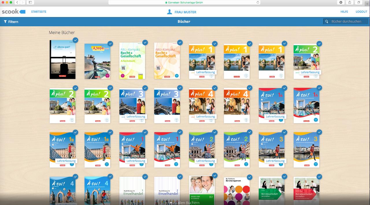 kostenlose E-Books für Lehrer @ Cornelsen (via Scook)