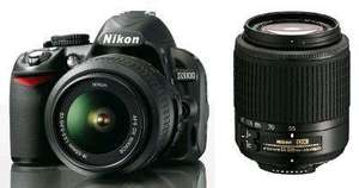 (Lokal Saturn St.Augustin / Siegburg) Nikon D3100 Double Zoom Kit 18-55 + 55-200