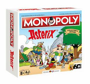 Monopoly Asterix und Obelix Collector's Edition (komplett zweisprachig Deutsch/Französisch, auf 3000 Exemplare limitiert)