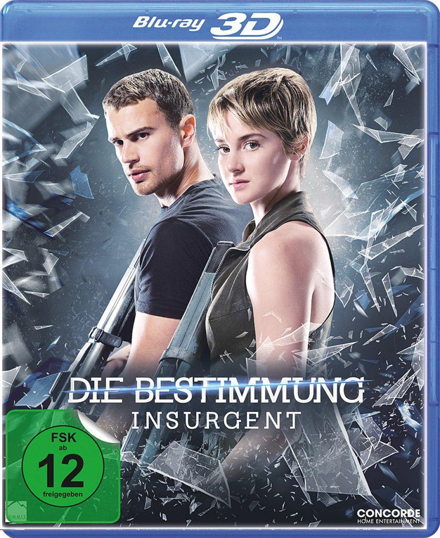 Die Bestimmung - Insurgent 3D Deluxe Fan Edition (Blu-ray 3D + Blu-ray) für 3,66€ (Dodax)