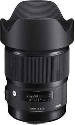 Sigma 20mm f1.4 DG HSM Art Objektiv für Leica L Mount