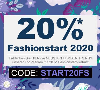 20% auf alles, auch reduzierte Ware bei hemden-meister (Hemden + Männermode)