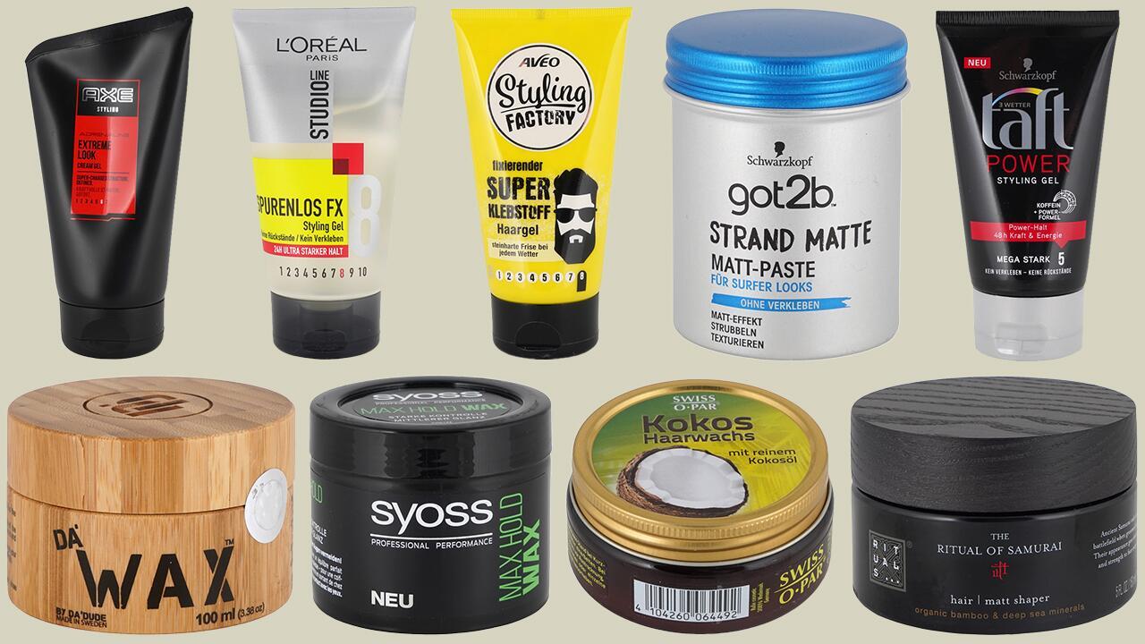 [Öko-Test] Haargel und Haarwachs im Test: Mineralöl und kritische Düfte gefunden. Jetzt gratis unser Testurteil zu 50 Produkten abrufen!