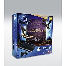 PlayStation 3 - 12 GB + Move Controller + Wonderbook: Buch der Zaubersprüche