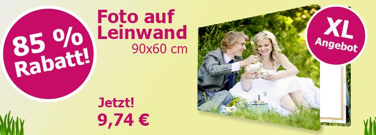 [Lieblingsfoto] Foto auf Leinwand | 90 x 60 cm | 16,42€ inkl. VSK --- bis zu 5 pro Bestellung