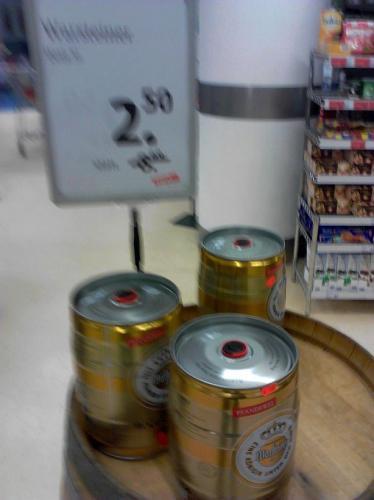 5 Liter Partyfass Warsteiner für 2,50€ [LOKAL] [TEGUT GÖTTINGEN]