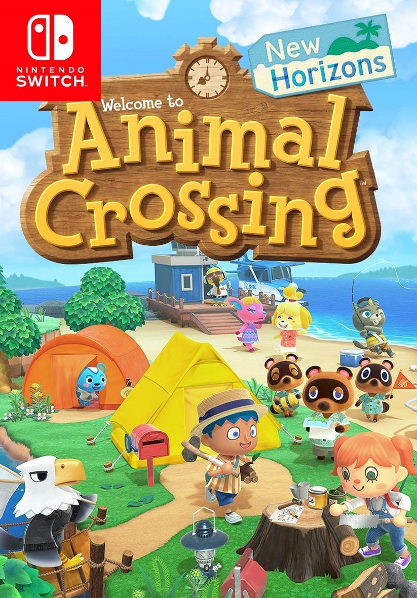Animal Crossing: New Horizons (Code-Switch) für 36.96€ (Game UK)