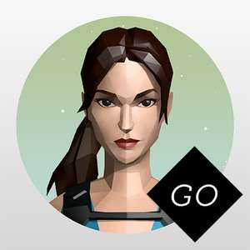Lara Croft GO | 4,8* | 1Mio.+ Downloads | Play Store | App Store