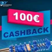 AP Gewindefahrwerke Cashback Aktion 2020 - 100€ Cashback pro Gewindefahrwerk