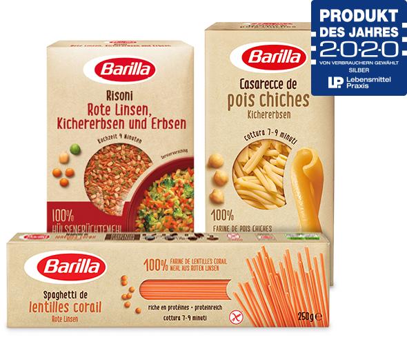 [GzG] Kostenlos testen 100% Cashback auf Barilla Pasta oder Risoni aus Hülsenfrüchten - vom 30.03. bis 04.10.2020