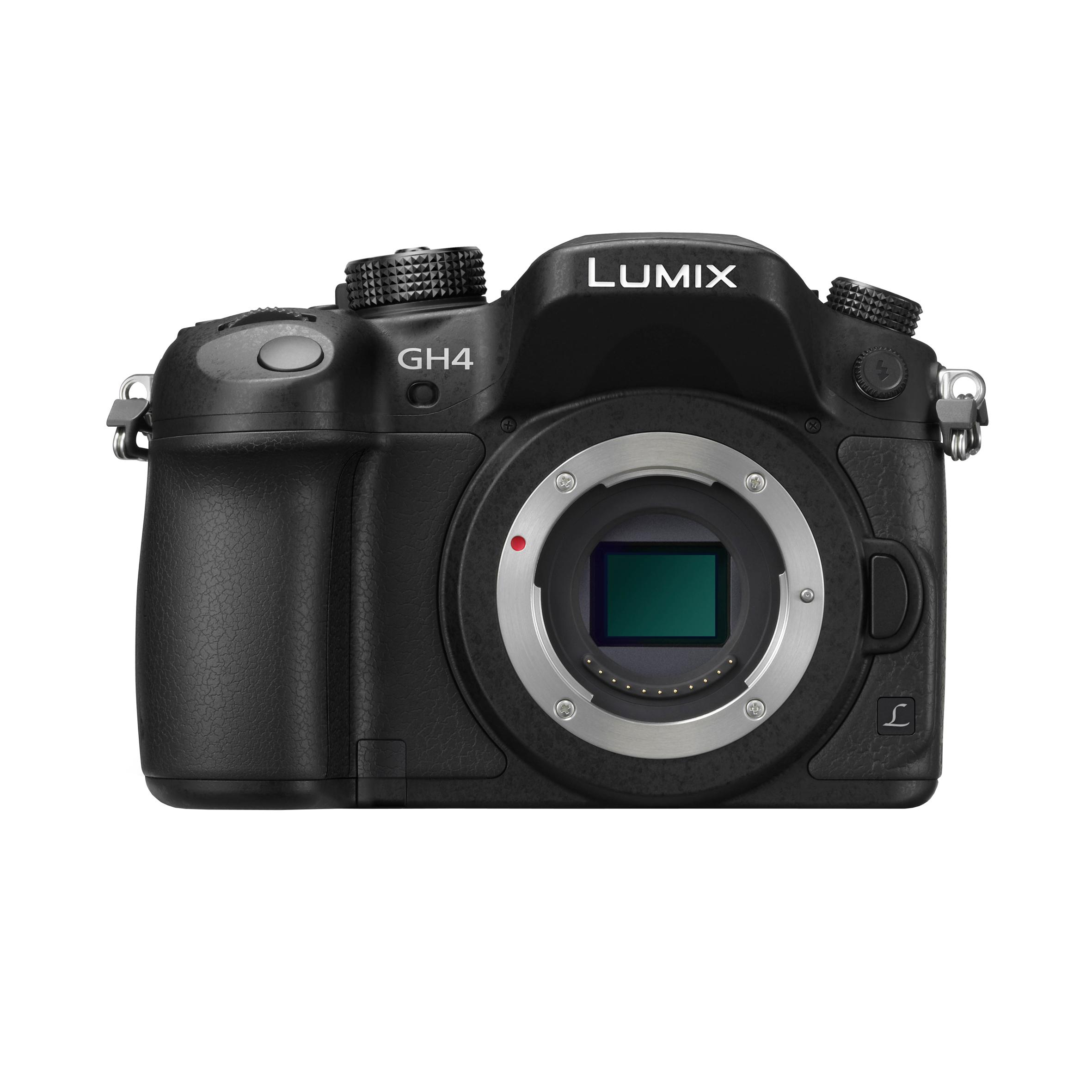 [foto gregor gruppe] Panasonic Lumix DMC-GH4 Gehäuse - Spiegellose Systemkamera Micro-Four-Thirds