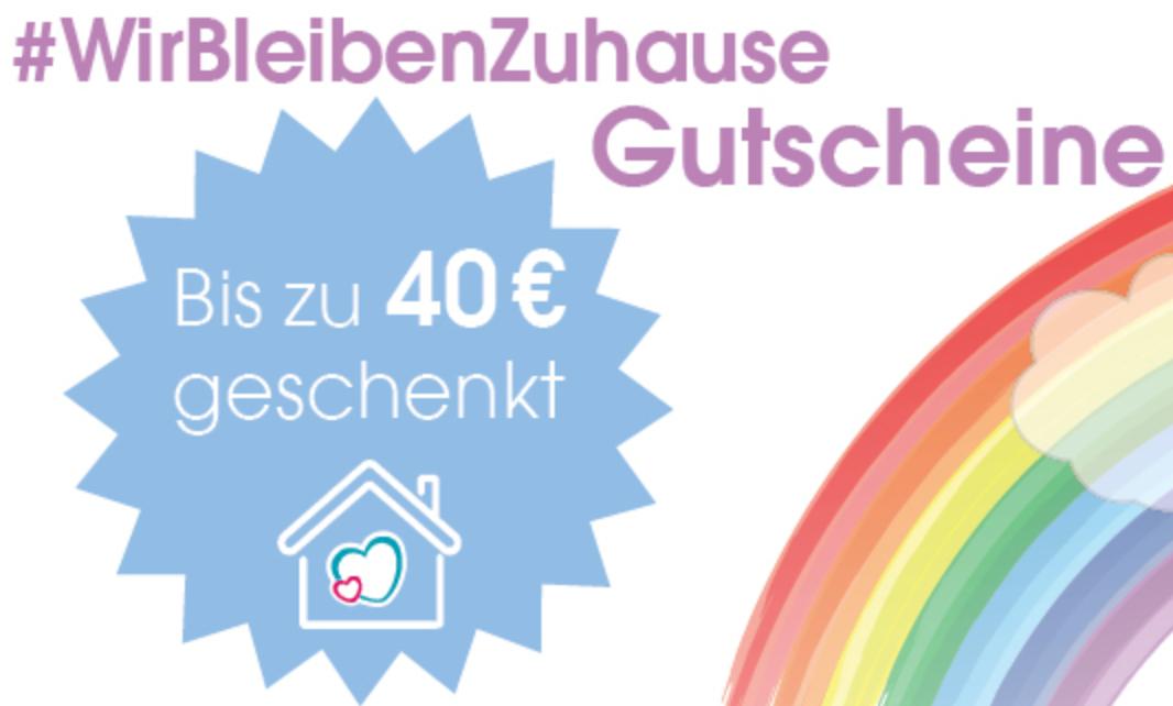 Bleib zu Hause-Aktion bei Babymarkt: Bis zu 40€ sparen | 5€ ab 40€, 10€ ab 80€, 20€ ab 160€, 30€ ab 240€ und 40€ ab 320€