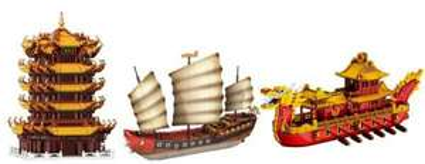 Xingbao 12.000 Teile gegen Langeweile (Modellbau)