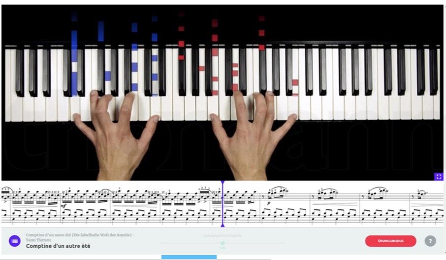 music2me Piano - Klavierunterricht Online
