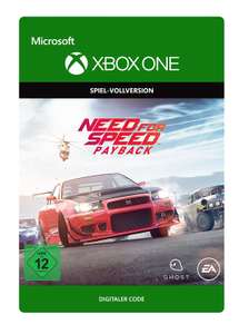 Need for Speed Payback (Xbox One Digital Code) für 5€ (Amazon)