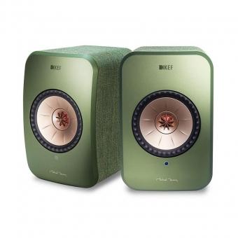 (CS Musik Systeme) KEF LSX Grün - Paar // Schwarz für 788€ - B-Ware