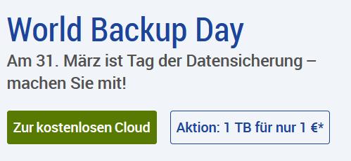 GMX Cloud 1TB für 1 Jahr