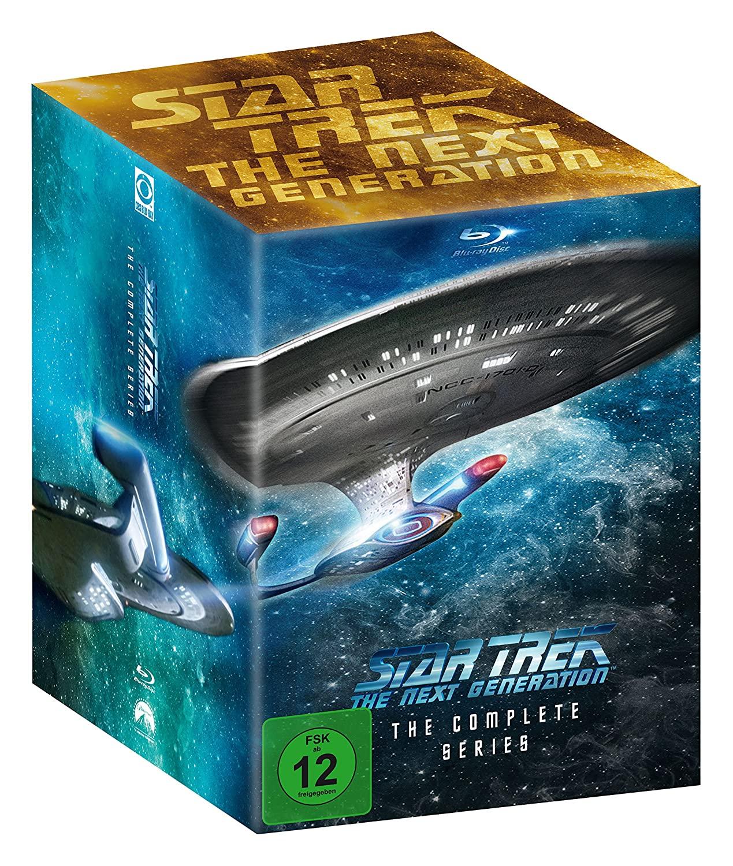 Star Trek - The Next Generation - Die komplette Serie (41x Blu-Ray Disc)