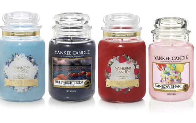 ( Groupon ) 4 Stück Yankee Candle Large Jar 623g