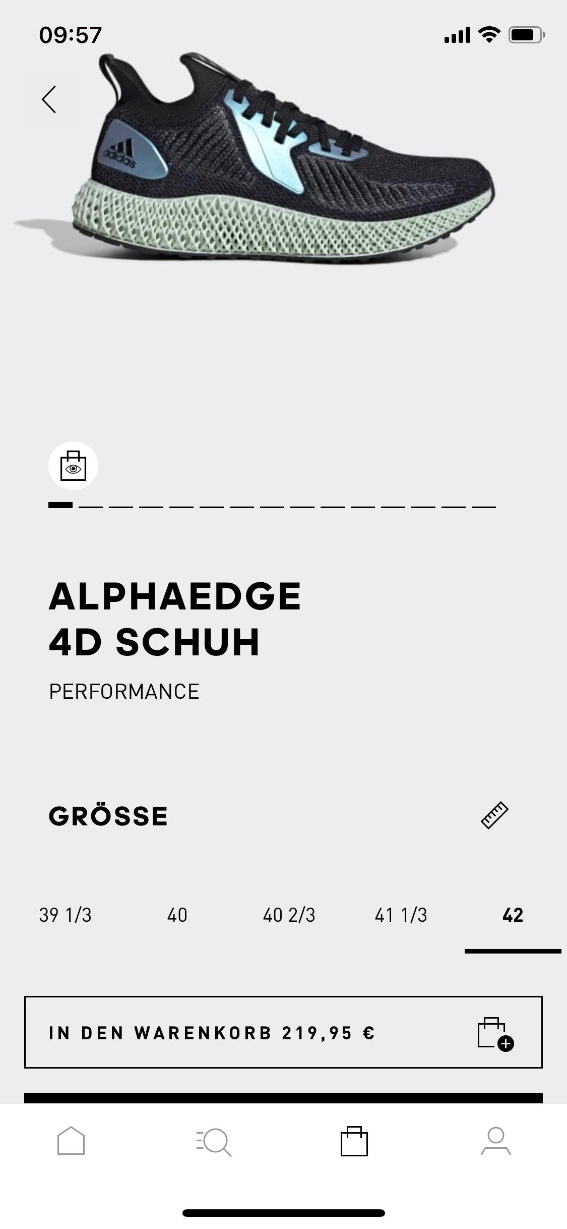 Adidas ALPHAEDGE 4D SCHUH