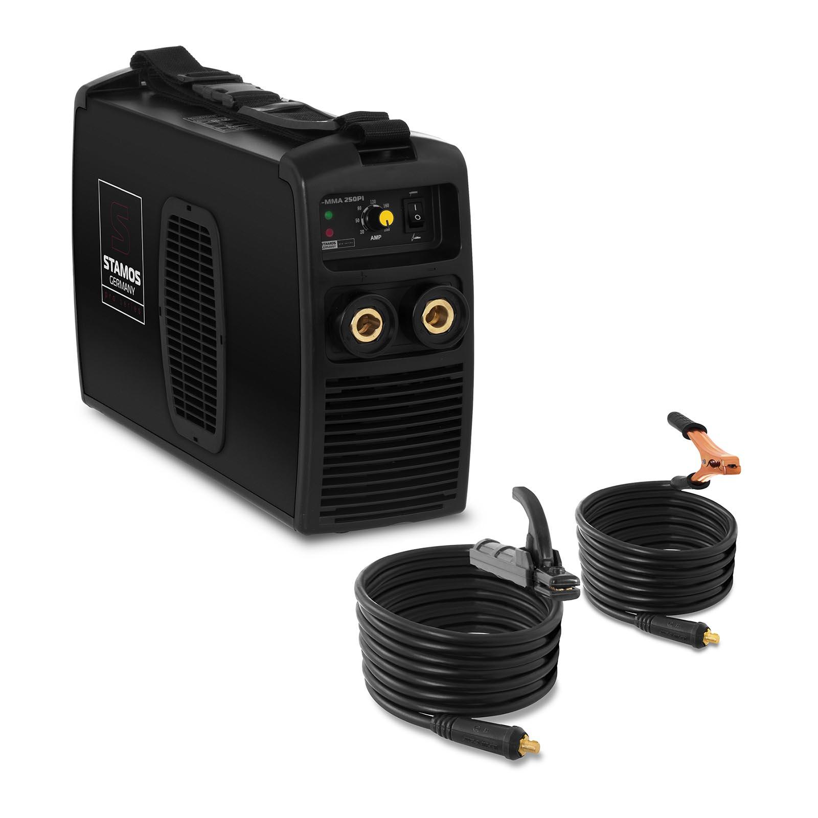 Stamos Elektroden Schweißgerät - 250 A - IGBT - 80 % ED