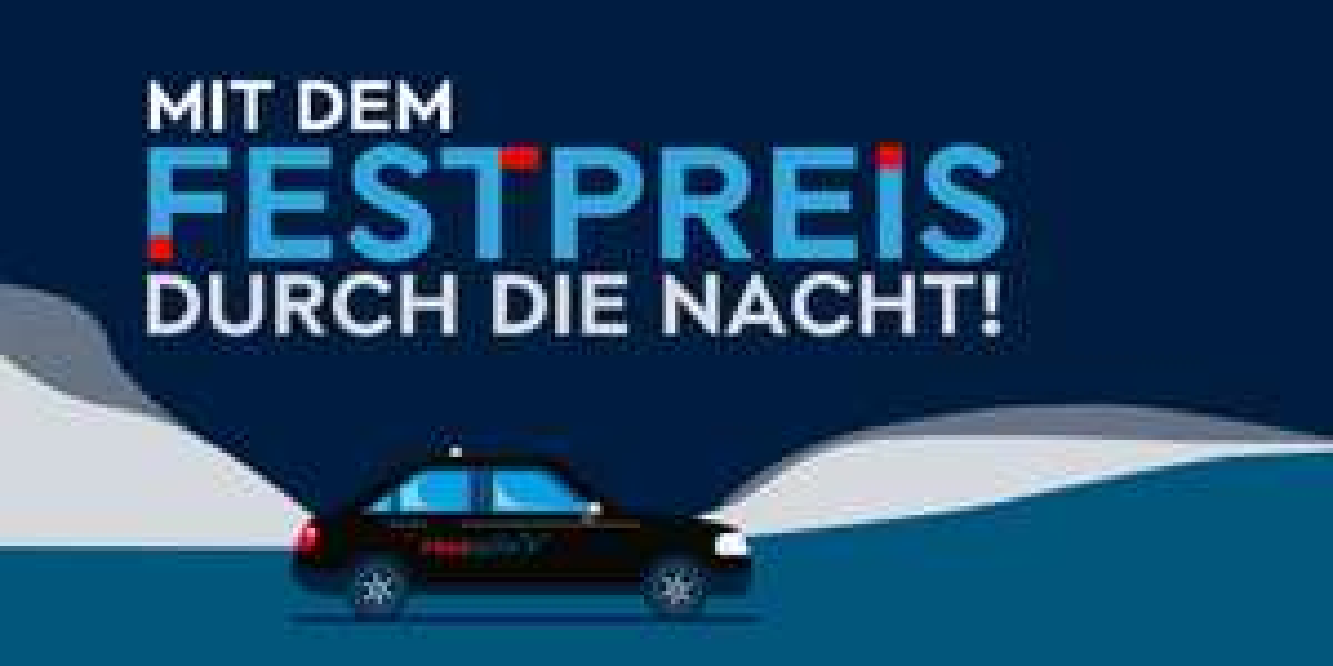[Lokal Hamburg] Free Now (myTaxi)0-6 Uhr für 4€ bzw. 8€