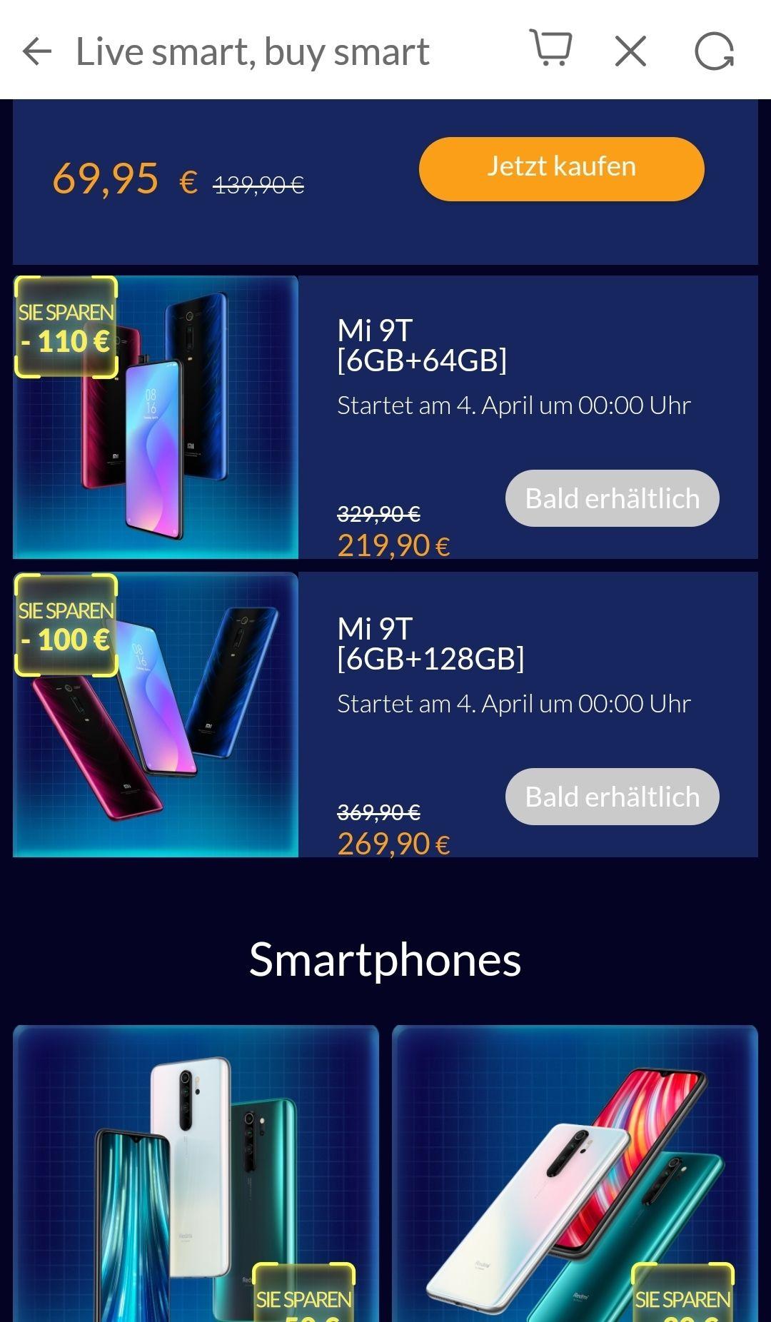 Mi fan Festival 2020 u.a. Xiaomi Mi 9T 6/64 für 198.91€ zweit Bestpreis