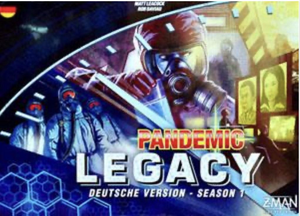 Pandemic Legacy Season 1 [blau] bei [fantasy in] im Angebot für 29,99€ [Brettspiel]
