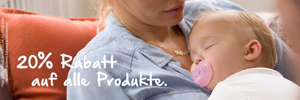 NUK: 20% Rabatt auf alle Produkte