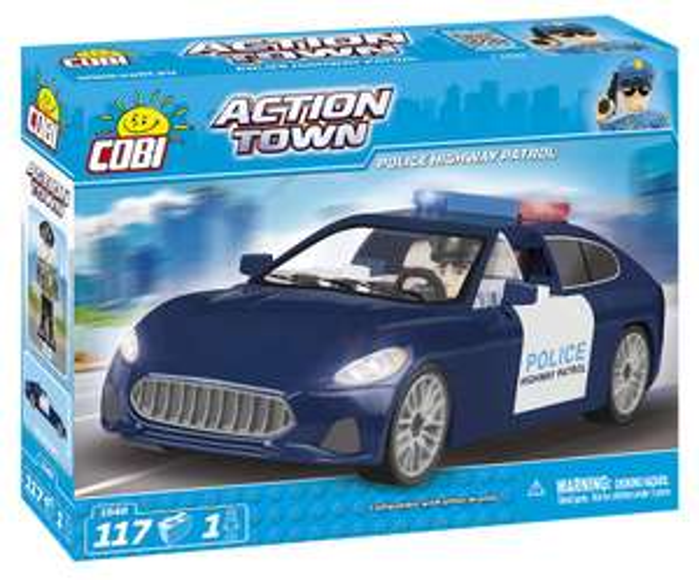 COBI Action Town 1548 - Police Highway Patrol für 8,79€ (Amazon Prime)