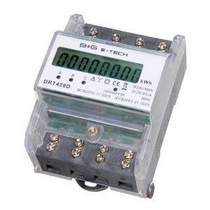 Drehstromzähler Energiemessgerät 400V 20(80)A -DRT428D