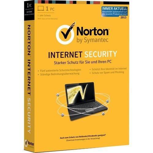 Symantec Norton Internet Security 2013/2012 Deutsch INKL für 1 Pc - 2 Jahre