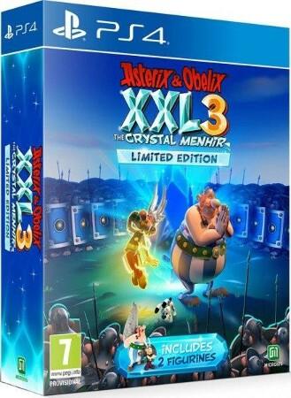 Asterix & Obelix XXL 3: Der Kristall-Hinkelstein Limited Edition (PS4)