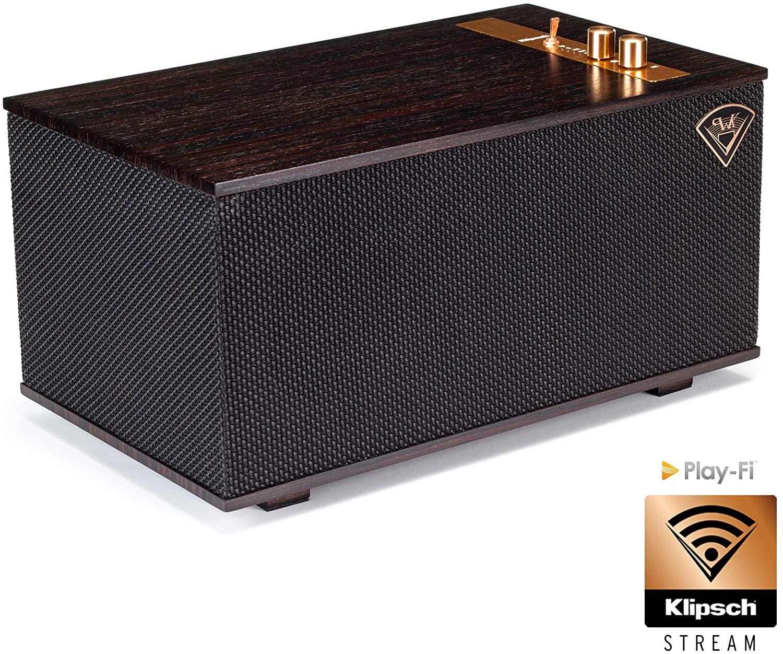 [Amazon.es] Klipsch Heritage The Three Ebony Ebenholz Multi-Room Streaming aptX Bluetooth WLAN