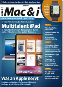 """[Heise] Mac & i (2 Ausgaben) mit 10€ Amazon-Gutschein + Sonderheft """"Mac & i extra Workshops"""" für zusammen 14,40€"""